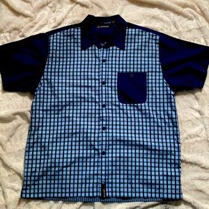 Bugle Boy Short Sleeve Button down Shirt